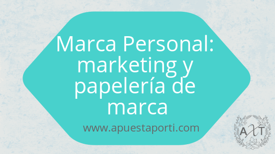 Marca personal: marketing y papelería de marca